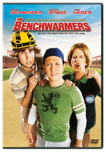 The Benchwarmers 2006 Starring Matt Weinberg Ray Nicholson Jared Sandler Patrick Schwarzenegger Max Prado Garrett Julian Alex Warrick Cole Hockenbury Danny Mccarthy Mason Knight Michael Venit J J Darwish Dj Evans Alastair If you like the benchwarmers, you may like: the benchwarmers 2006 starring