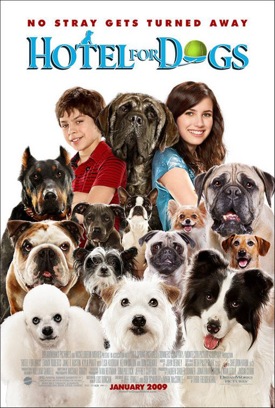 Hotel for Dogs (2009) :: starring: Emma Roberts, Jake T ...